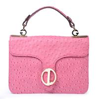 Kamicy2012 women's fashion handbag genuine leather bag ostrich grain cowhide small bags female handbag cross-body