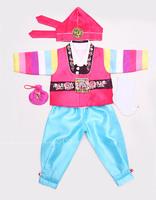 Fabric baby boy birthday fengliu male child hanbok h-e01065