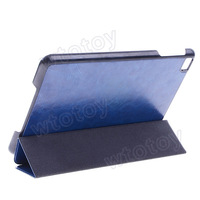 Genuine Real Leather Case For Apple iPad mini Blue 20561