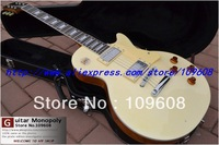 Wholesale - Free Shipping Newest Cream white Beauty standard Mahogany Electric Guitar High Quality HOT with hardcase