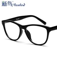 2014 Reading Glasses Oculos De Grau Feminino free Shipping Computer Radiation-resistant Glasses Male Anti-fatigue Goggles Plain