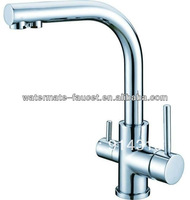 single lever 3 way drinking water kitchen faucet