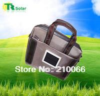 Freeshipping 1.0W 1500MAH Solar Bag Charger Solar Handbag With USB connecting line for phone,laptop,PSP,MP3/4,Digital Ceramic