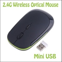 High Quality Mini 2.4G USB Wireless Mouse Slim Mice 2.4G Receiver for Laptop PC Desktop 1200 DPI Free shipping