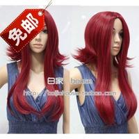 free shipping Cosplay wig middot   hildebrand rhodic lengthen claretred   Trinity Blood  Esther Blanchett