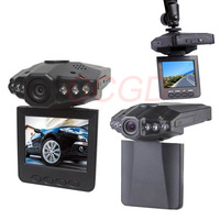"Vehicle DVR accident Video Recorder Registrar 115 Degree View Angle 2.5"" LCD 6 IR LED Night Vision Car Road Camera dashboard"