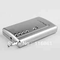 20PCS EMS Free shipping Anti-Spy Wireless Pinhole Camera and RF Bug Detector (0-6GHz)