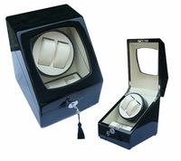 Rotating watch box watch winder table watch box multithread 2 + 2