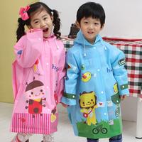New arrival hot-selling hugmii cartoon child raincoat poncho baby student raincoat school bag raincoat