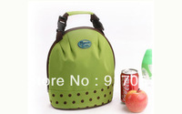 Free shipping Cold/Hot Insulated Thermal Lunch Tote Bag,hand/shoulder picnic school ice cooler bag for lunch drinks fruits milk