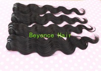 "Wholesale Malaysian Remy Hair Virgin Hair Extension Body wave 16""-34"" Per 1KG no shedding, no tangles Beyonce Hair Product"