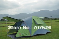 water-resistant sunscreen 3 - 4 double layer tent outdoor camping