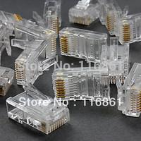 RJ45 AMP Non-shielding High Performance Crimp Plugs