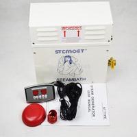 6KW steam generator/Sauna Bath Home SPA shower&ST-135M Controller