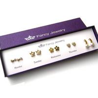 Серьги-гвоздики sweet imitation pearl giant panda earring earrings stud earring 15g, es384