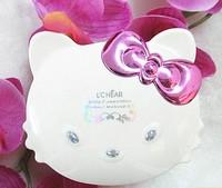 NEWEST  Real Mineral  Cosmetics makeup hello kitty Free shipping cute cat 10 EYE SHADOW+3 blush+3 lip gloss+tools