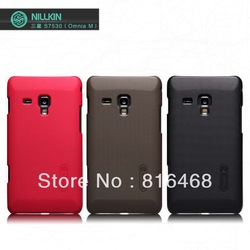 Genuine Nillkin Super Shield Shell Hard Case Cover Skin Back For Samsung Omnia M S7530+Screen Protector Free Shipping(China (Mainland))