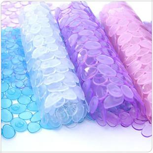 Cobblestone transparent pvc bath mat mats bath mat health care bath 390g