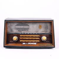 Old fashioned vintage radio furnishings personal home decoration wedding clothes decoration props