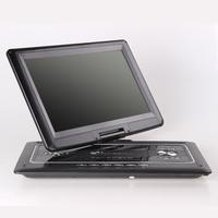 Mobile dvd video-disc machine evd player portable dvd 17 hd screen rmvb tv 716