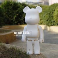 DIY Painting Bearbrick White Doodle Oversized 50CM Bear Model Birthday Gifts Anime Action Figures