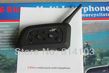 Hot Selling 1000M BT Intercome,Bluetooth Motorcycle Helmet Earphone Headset With Stereo Music/Audio Functions,Freeshipping