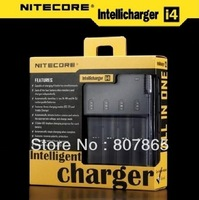 Nitecore Battery Charger For 18650 16340 26650 10440 AA AAA 14500 Battery Charger Nitecore I4 Charger Free Shipping