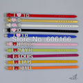 10pc/lot HOT 1D I Love One Direction Super Star Mixed color Leather Bracelet Slider Crystal Letters Charm DIY Wristbands Fashion