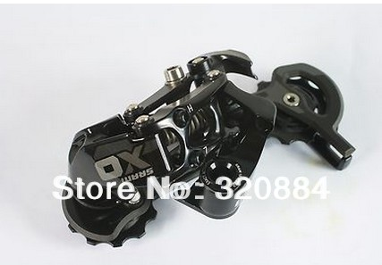 In stock 2013 SRAM X0 X.0 Rear Derailleur,Carbon Long Cage,Black,10s(China (Mainland))