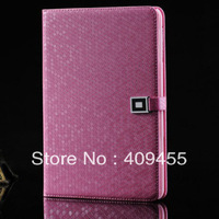 New book designer bling protective pu leather case with magnetic snap for ipad mini fashion business style Free shipping
