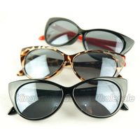 60s Vintage CATEYE ROCKABILLY Sunglasses Cat Eye Harlow Row House Super FREE SHIPPING