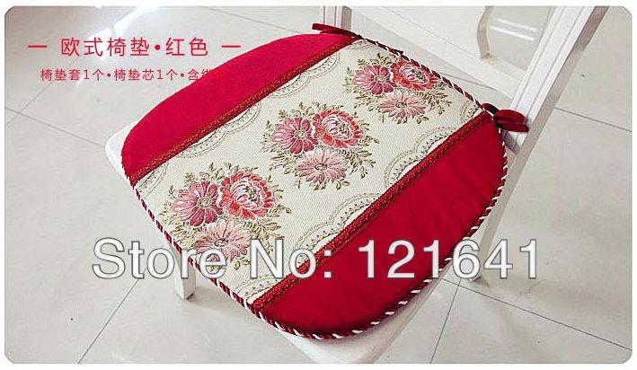 Gold quality jacquard dining chair pad summer cushion seat cushion unpick and wash(China (Mainland))