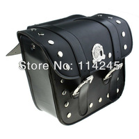New Black Classic Motorcycle Saddlebags Hold-All Work-Box Tool Case For Harley Motorcycle accessories