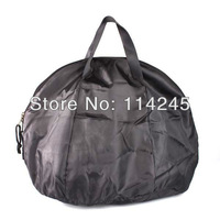 Black Soft Fleece Lined Nylon Shell Protection Raider Motorcycle Helmet Bag Motorcycle accessories