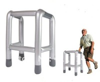 Hot Sale,Unbelievable Price-INFLATABLE ZIMMER FRAME - Blow Up - Oldies Fun Toy - Walking - Gift/Freeshipping