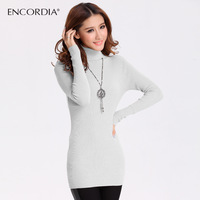 2012 autumn and winter turtleneck sweater women's medium-long knitted slim basic shirt basic sweater e3318