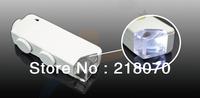 Free shipping 160x -200x Mini LED Pocket Microscope Magnifier Loupe MG10081-1A