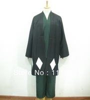 Japanese Anime Bleach Urahara Kisuke Men's Halloween Cosplay Costume