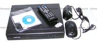 4CH DVR H.264 DVR Network Digital Video Recorder IR W/USB Mouse/CMS/Audio/SATA/VGA