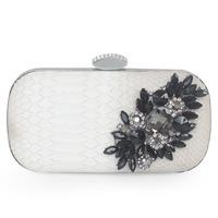 398w15 PU acrylic gem elegant package bag day clutch bridal bag