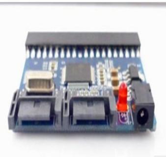 2pcs lot IDE to SATA Adapter card ATA / ATAPI Ultra DMA data 16.7,25,33,48,66,100,133 and 150MB / s+free shipping