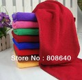 Microfiber towel 70*30cm large car wash towels cleaning towel