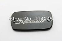 Black Brake Fluid Reservoir Cap For Honda Shadow 600 Shadow 750 Shadow 1100 motorcycle parts