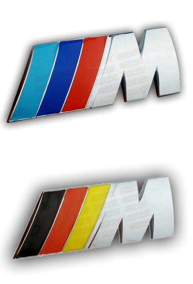 Free shipping (5pieces/lot) Car Trunk Badge Emblem Sticker ABS ///M for BMW car Stickers(China (Mainland))