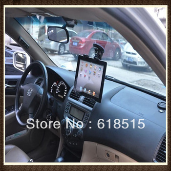 "Cradle Bracket Clip for IPAD 2/3/4/MINI Universal Car Holder for 7"" - 14"" tablet pc 360 Degree windshield stand for GPS / DVD"