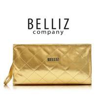 Free Shipping Gold dimond belliz plaid big capacity day clutch cosmetic bag multifunctional bag women's handbag