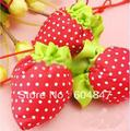 30pcs/lot strawberry Foldable Shopping Bags Reusable shopping bag Eco-Friendly Shopping Bags Tote Bags