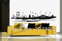 NEW 30*135cm Islamic decor Wall paper Home stickers decals Art Vinyl Murals No52 istanbul