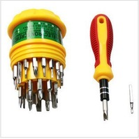 Hot selling !!Free shipping dropshipping 31 in 1 Electronic Precise Manual Screw Driver Tool Set CRV BITS #8245