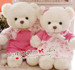 Wedding bear filmsize doll lovers teddy tang suit wedding gift new year gift(China (Mainland))